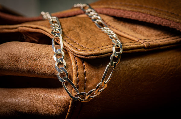 Men's Large Thickness 180 Figaro Chain (6.8mm)