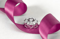 Alternating Hearts Wraparound Band Ring