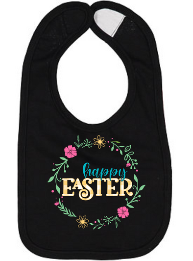 Happy Easter Bib