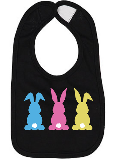 Three Bunnies Bib