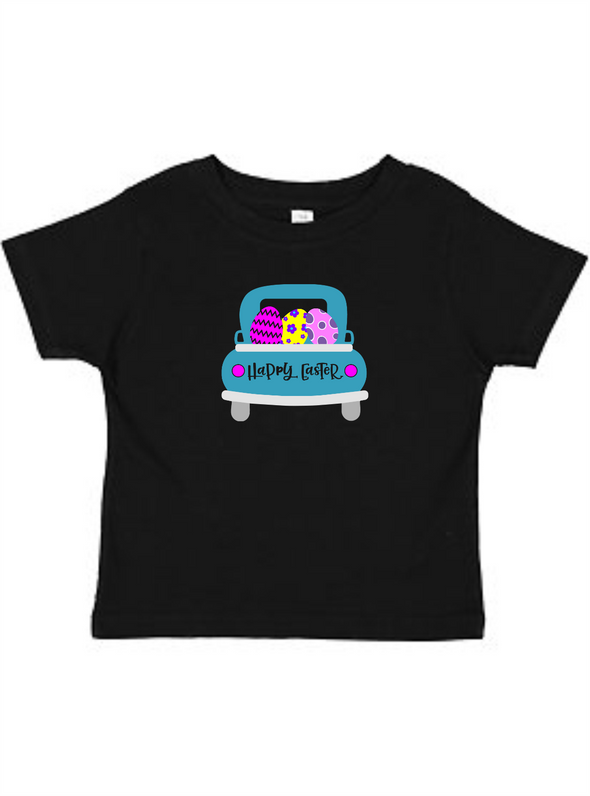 Happy Easter Truck Toddler Tee