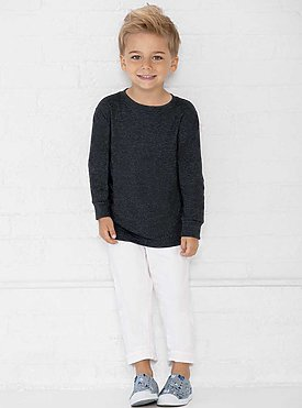 Toddler Long Sleeve Fine Jersey Tee