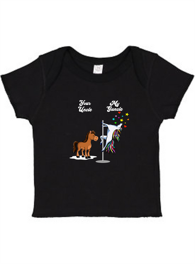 Your Uncle My Guncle Infant Baby Rib Tee