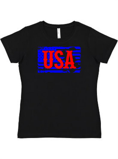 USA Ladies Tee