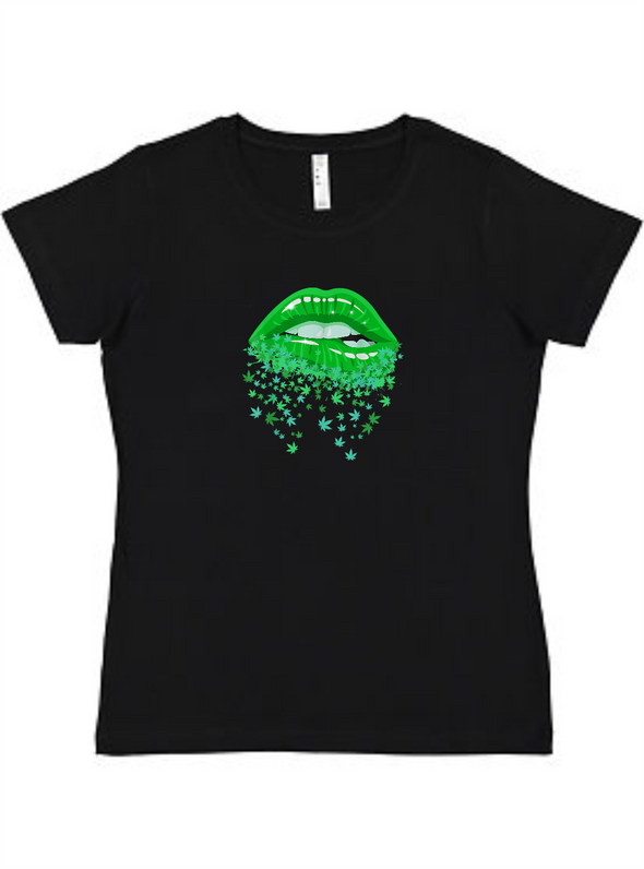 Dripping Lips Ladies Tee