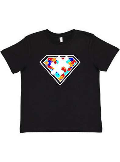 Super Autism Youth Tee