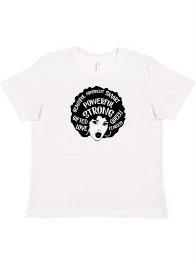 Strong Woman Youth Unisex Tee