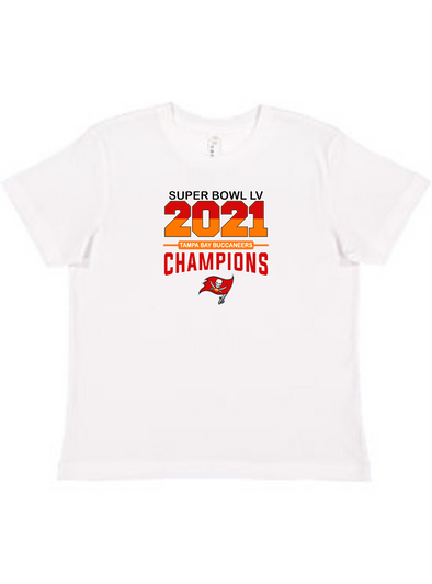 Tampa Bay Buccaneers 2021 Superbowl Youth Unisex Tee
