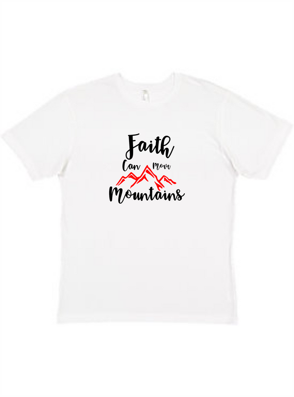 Faith can move mountain Unisex Tee