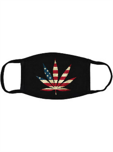 Americana Cannabis Face mask