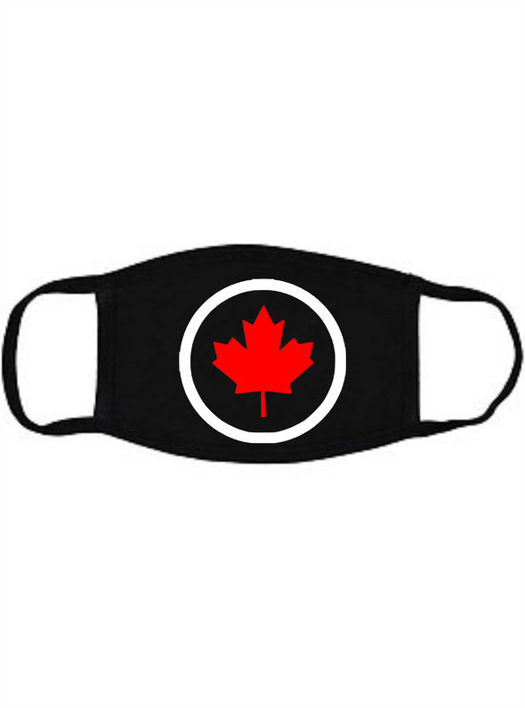 Canada Maple Leaf Round Face mask