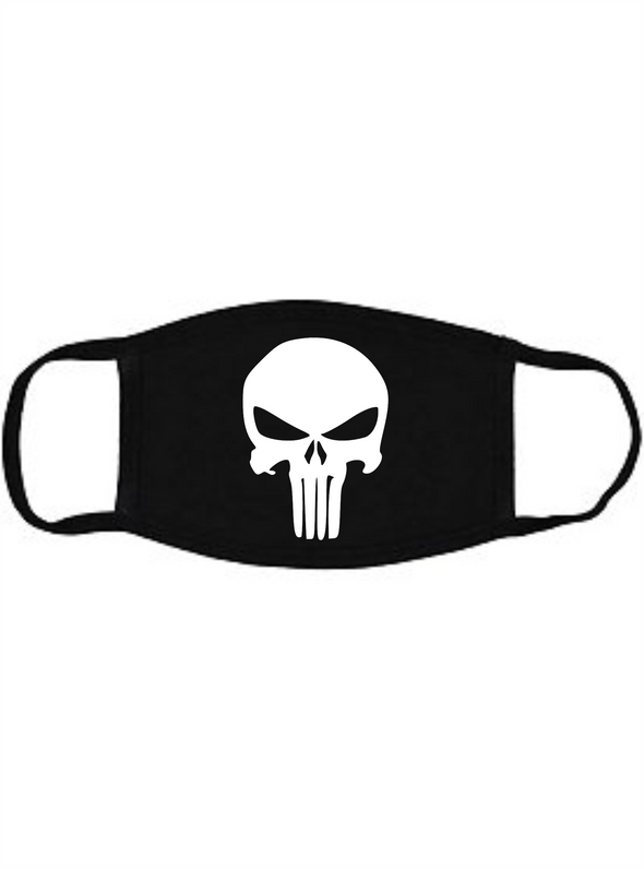 The Punisher Face Mask