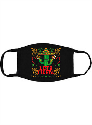 Lets Fiesta Cactus Face Mask