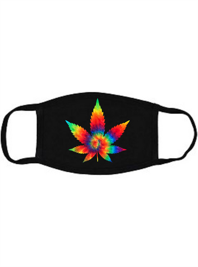 Psychedelic Cannabis Face mask