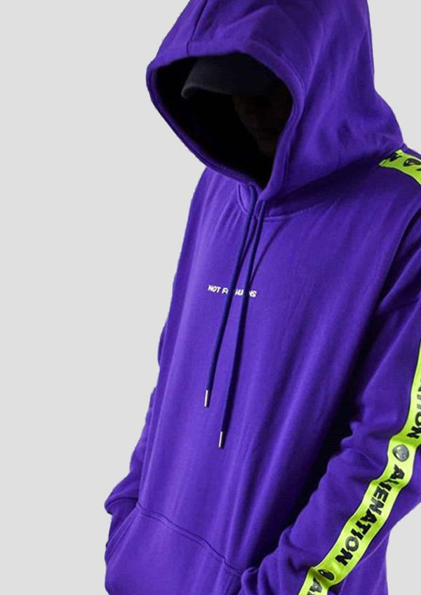 ALIEN HOODIE - PURPLE EDITION - Alienation