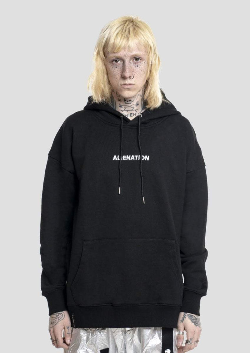 """F*ck You All"" Hoodie - Alienation"