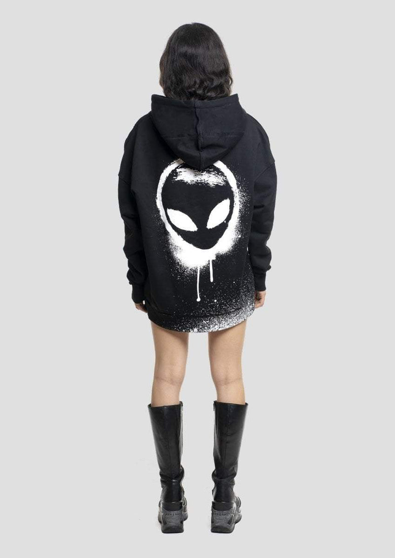 Graffiti Alien Hoodie - Alienation