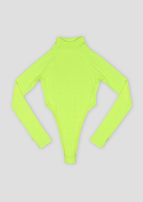 GREEN NEON BODYSUIT - Alienation