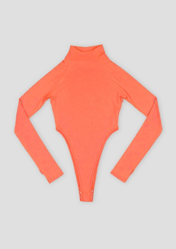ORANGE NEON BODYSUIT - Alienation