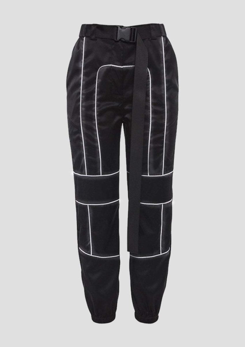 REFLECTIVE STRIPES PANTS - Alienation