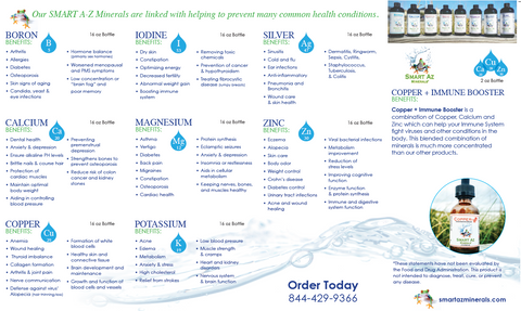 Smart AZ Mineral Water Brochure