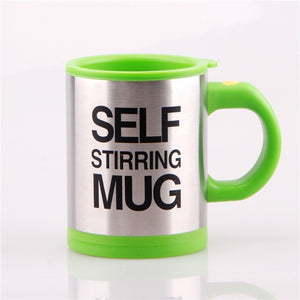 Smart Self Stirring Stainless Steel Milk Coffee Mixing Mug