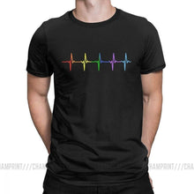 Load image into Gallery viewer, Rainbow Heartbeat Shirt