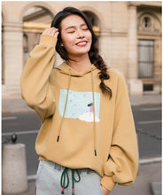 Load image into Gallery viewer, Stylish Drawstring Artistic Fashion Hoodie