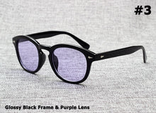 Load image into Gallery viewer, Vintage Round Tint Ocean Lens Sunglasses