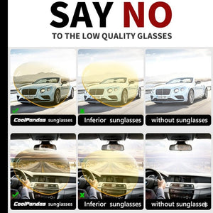 Day Night Vision Anti-glare Glasses For Safe Night Drive