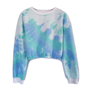 Plus Size Streetwear Tops Short Long Sleeve Sweatshirts