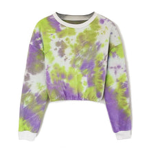 Load image into Gallery viewer, Plus Size Streetwear Tops Short Long Sleeve Sweatshirts
