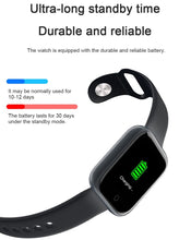 Load image into Gallery viewer, Unisex Waterproof Fitness Tracker Smartwatch