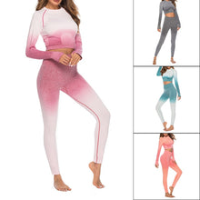 Load image into Gallery viewer, Yoga Bra Vest & High-waist Pants Set