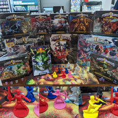 Power Rangers Board Game & Graphic Novels