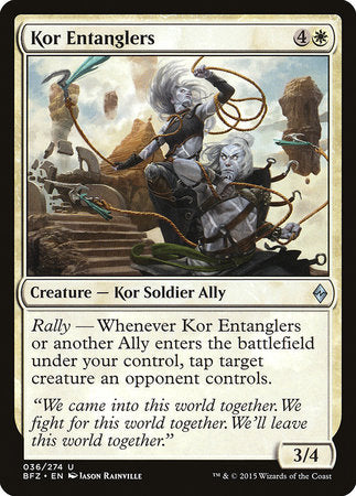 Kor Entanglers [Battle for Zendikar] | Dice Addiction LLC