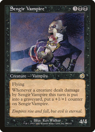 Sengir Vampire [Torment] | Dice Addiction LLC
