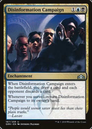 Disinformation Campaign [Guilds of Ravnica] | Dice Addiction LLC