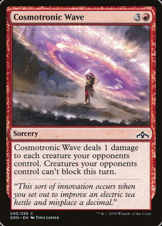 Cosmotronic Wave [Guilds of Ravnica] | Dice Addiction LLC