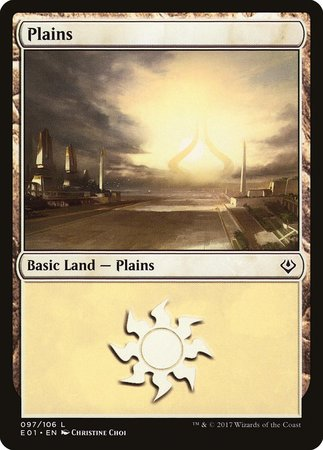 Plains (97) [Archenemy: Nicol Bolas] | Dice Addiction LLC