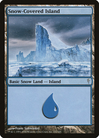 Snow-Covered Island [Coldsnap] | Dice Addiction LLC