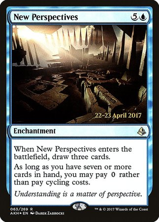 New Perspectives [Amonkhet Promos] | Dice Addiction LLC