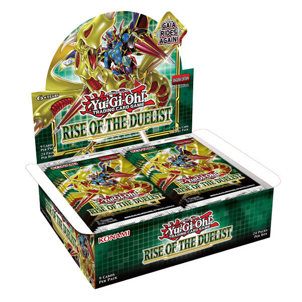 Yu-Gi-Oh! Rise Of The Duelist Booster Box | Dice Addiction LLC