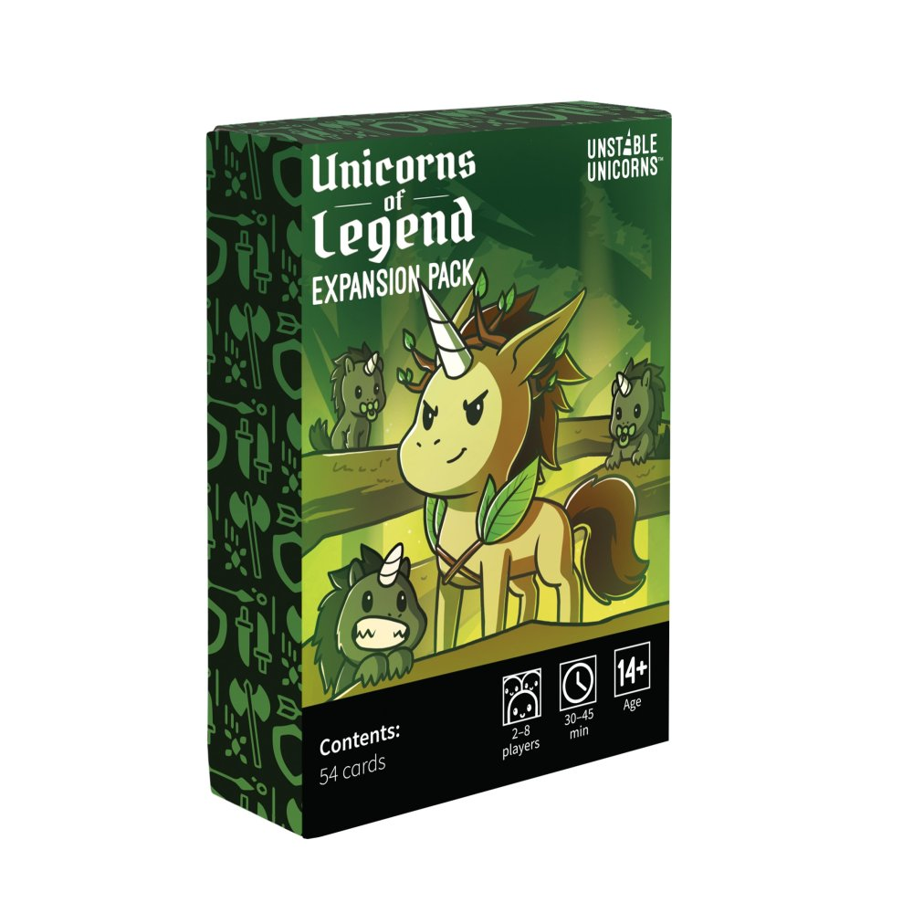 Unstable Unicorns: Unicorns of Legends Expansion | Dice Addiction LLC