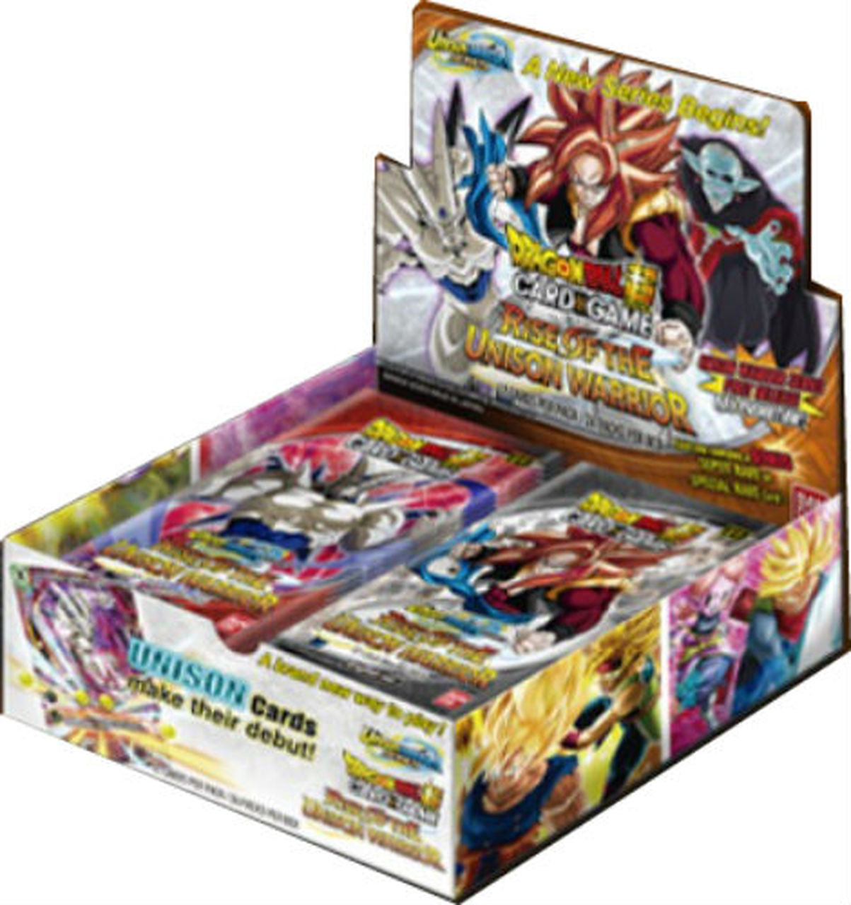 DRAGON BALL SUPER CARD GAME Unison Warrior Series Rise of the Unison Warrior Booster Box | Dice Addiction LLC