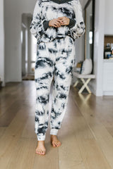 Rejuvenation Black & White Joggers - BeeLovely Boutique