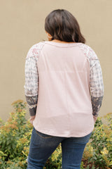 All About The Details Top in Dusty Lavender