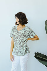 Leap Of Faith V-Neck In Mint - BeeLovely Boutique