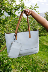 Maximum Capacity Tote In Dove - BeeLovely Boutique