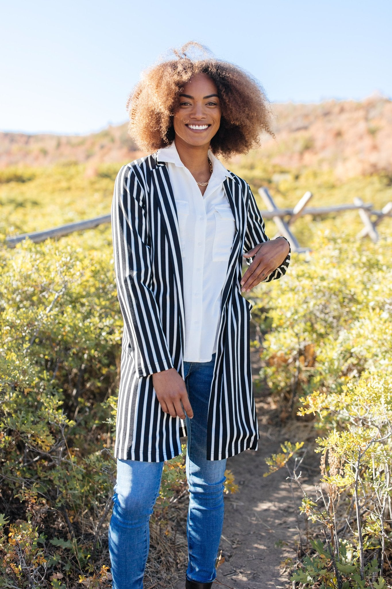 The Tall Stripes Jacket